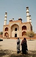 Sikandra, Akbar´s Mausoleum, Agra, Uttar Pradesh, India