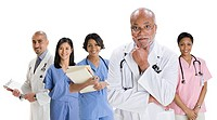 Portrait of doctors and nurses (thumbnail)