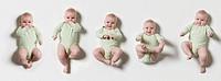 Five babies