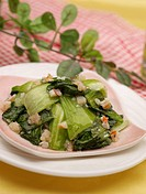 dishes, Food styling, dish, dishes, dish, Chinese, roasted Pak Choi