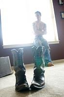 Shoeless Cowboy