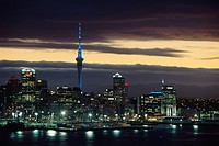 New Zealand - North Island - Auckland - Waitemayta Harbor (thumbnail)