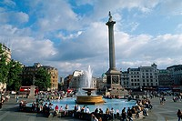 England _ London _ St Jame´s district _ Trafalgar Square