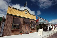 New Zealand _ South Island _ West coast _ Reefton _ Ancient city of the gold rush and quartz