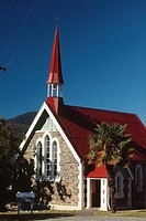 New Zealand _ South Island _ Marlborough Sounds _ Havelock Chapel