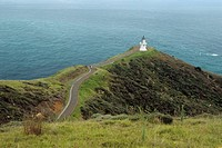 New Zealand _ North Island _ Northernland _ Cape Reinga _ Country's Northernest point