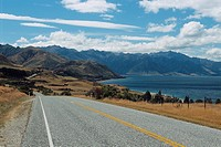 New Zealand _ South Island _ Otago _ Environs Wanaka / Lake Hawea _ Highway No. 6
