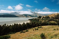 New Zealand _ South Island _ Canterbury _ Banks Peninsula _ Lyttelton