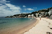 New Zealand _ North Island _ Wellington _ Oriental Beach