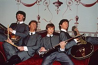 England _ London _ Maybelone district _ wax figures at Madame Tussaud's wax museum