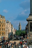 England - London - St James's district - Trafalgar Square and Whitehall (thumbnail)