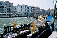 Italy - Venice - authentic Venetian gondola (thumbnail)