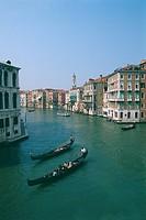 Italy _ Venice _ The Grand Canal _ gondolas