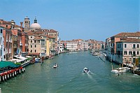 Italy _ Venice _ The Grand Canal _ waterway _ entryway