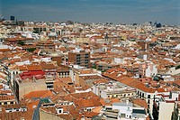 Spain _ Madrid _ View of old Madrid
