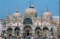 Italy _ Venice _ Saint Mark's Basilica _ facade