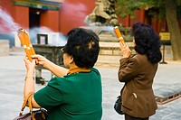 China _ Beijing PÚkin _ Chaoyang district _ Temple of the Llamas Yonghegong