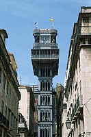 Portugal _ Lisbon _ Santa Justa Lift