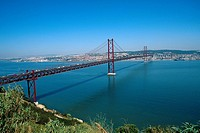 Portugal _ Lisbon _ 25 de Abril Bridge