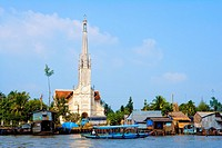 Vietnam _ The South _ The Delta of Mekong _ Vinh Long