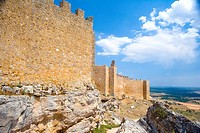 Spain _ Castile and Leon _ Province of Soria _ The route of the Cid _ Castle of Gormaz