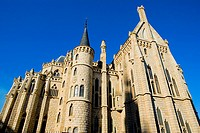 Spain _ Castile and Leon _ Province of Leon _ Astorga _ Episcopal Palace of Gaudi