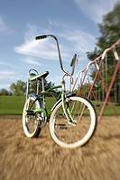 Bike on playground