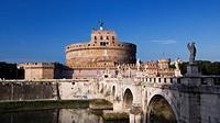 italy, lazio, rome, castel sant´angelo
