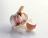 Garlic Bulb with Clove of Garlic