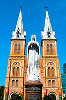 Vietnam _ Ho Chi Minh_City Sa'gon _ Notre_Dame Cathdral