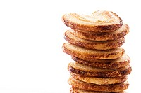 Close_up of a stack of cookies