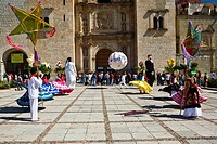 Dancers at a wedding ceremony, Oaxaca, Oaxaca State, Mexico