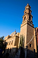 Low angle view of a church, Templo Del Encino, Aguascalientes, Mexico