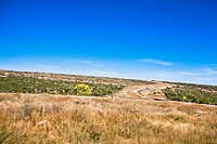 Panoramic view of a landscape, Sombrerete, Zacatecas State, Mexico