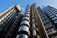 Lloyd´s Building, designed by Richard Rogers, London, England, UK