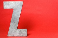 Letter Z on red background