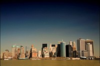 Downtown skyline, Manhattan, NYC, USA