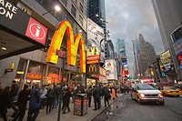 McDonald's, Manhattan, NYC, USA
