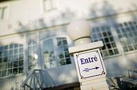 Vitemölla Badhotell, Vitemölla, Kivik, Österlen, Skåne, Sweden