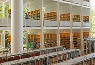 Interior from library in Malmö, Sweden
