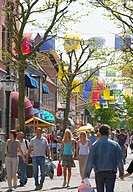 Kristianstad city, Skåne, Sweden