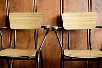 Two old tabern quiet chairs