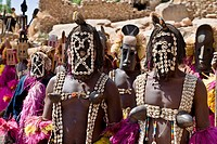 Dogon DanceTireli Bandiagara Escarpment Mali