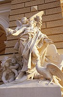 Odessa, Ukraine, Sculpture in front of the opera