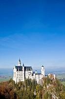 Germany, Bavaria, Allgaeu, Neuschwanstein Castle
