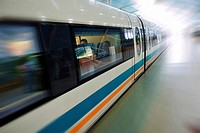China, Magnetically levitated Maglev train