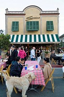 Tiburon, California, Main Street, Servins Restaurant