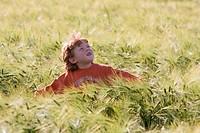 Kind im Feld II