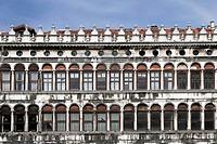 Piazza San Marco Building Facade, Venice