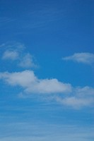 Zarte Wolken